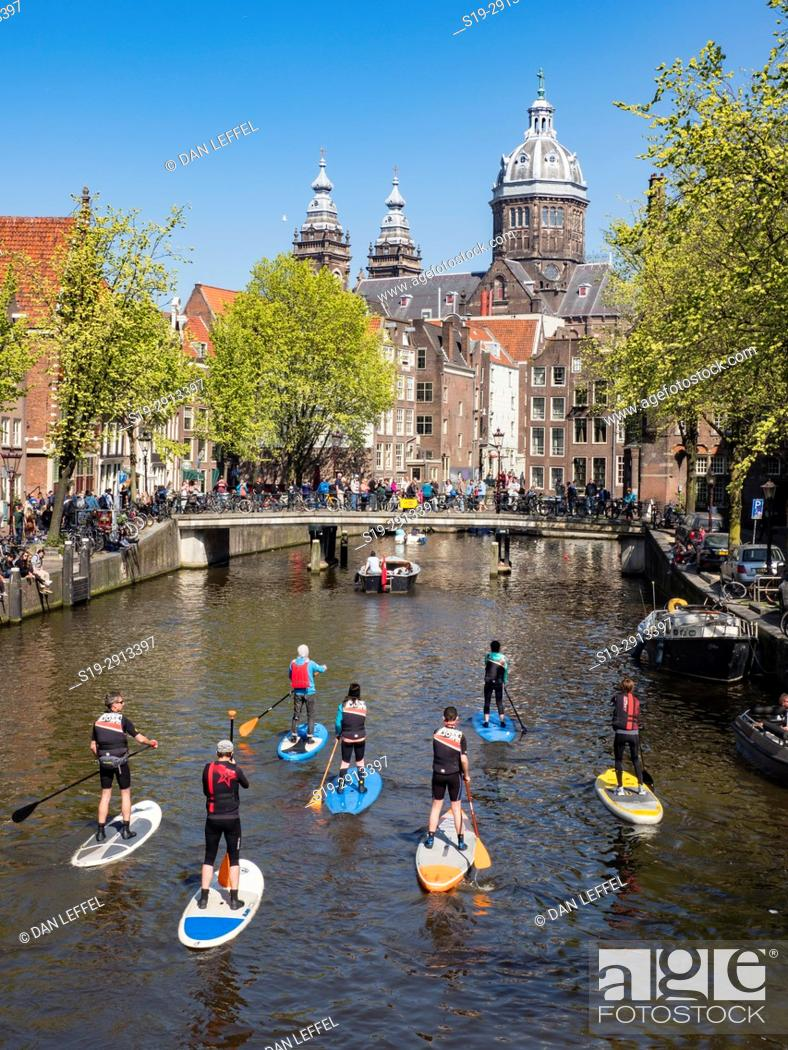 Imagen: Amsterdam Canal Paddleboard.