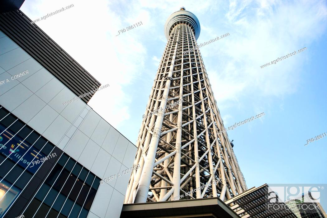 Stock Photo: Tokyo Skytree in Sumida, Tokyo, Japan.