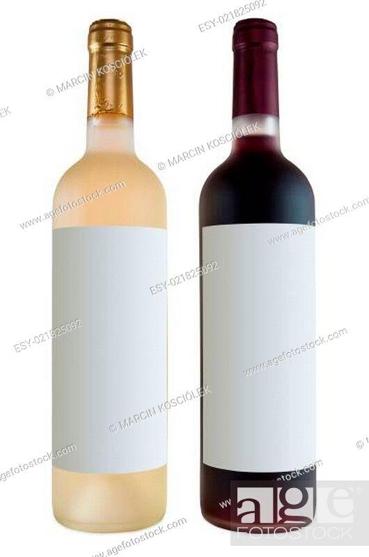 Imagen: Two bottles of wine.