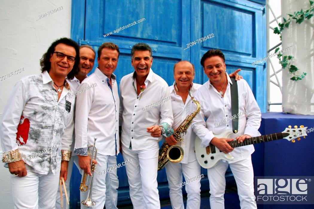 Stock Photo: Die Paldauer (Musiker / Musikgruppe / Band) in der ARD-TV-Sendung.
