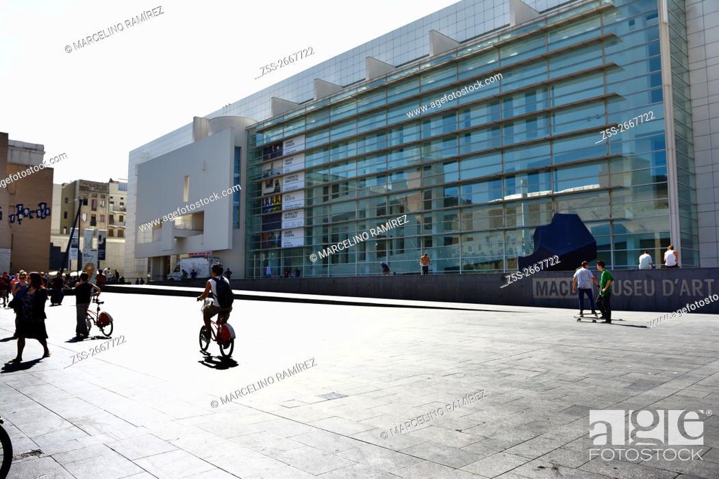 European Modern Art Museum Barcelona