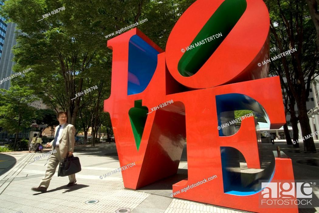 Modern Art Sculpture Love