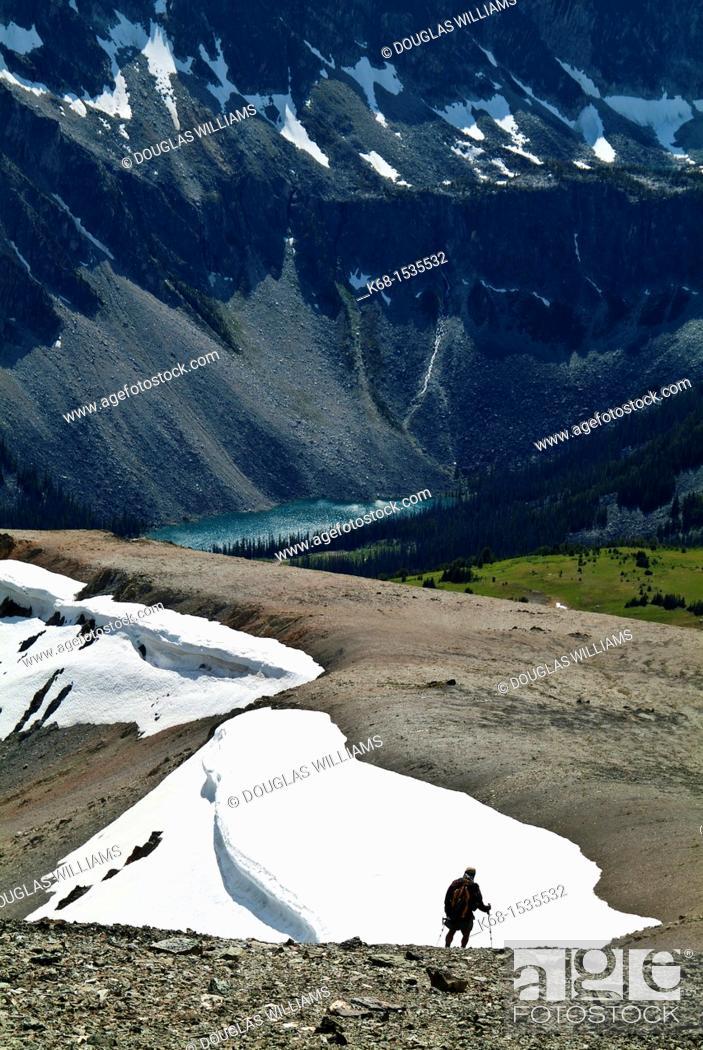 Stock Photo: Cayoosh Range of the Coast Mountains, British Columbia, Canada.