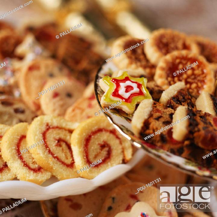 Stock Photo: Christmas baking.