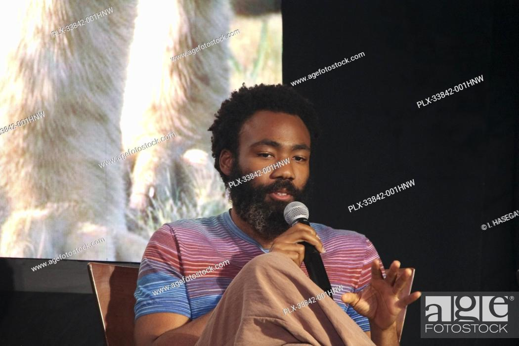 "Stock Photo: Donald Glover 07/10/2019 """"The Lion King"""" Press Conference held at the Montage Beverly Hills Luxury Hotel in Beverly Hills, CA. Photo by I."