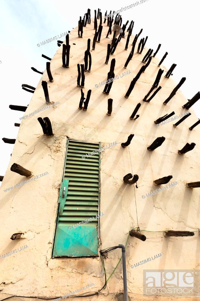 Imagen: The grand Mosque in Bobo-Dioulasso Burkina Faso.
