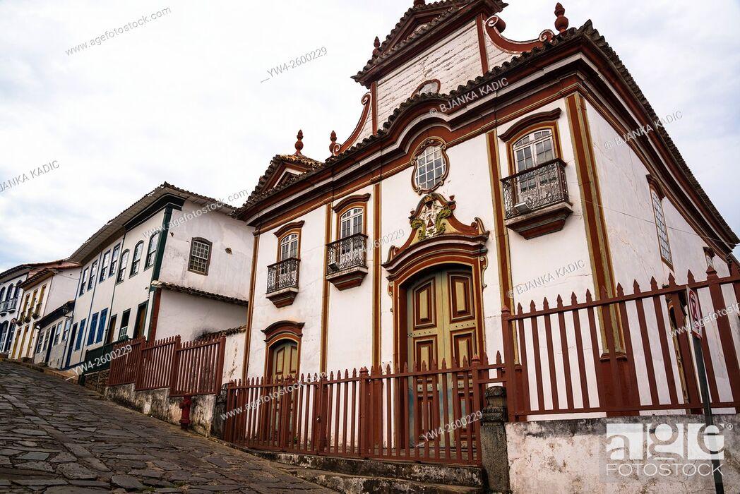 Stock Photo: Igreja Nossa Senhora do Carmo, Diamantina, Minas Gerais, Brazil.