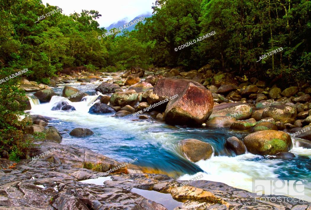 Stock Photo: Mossman River, Cape tripulation, Daintree River National Park, Queensland, Australia.