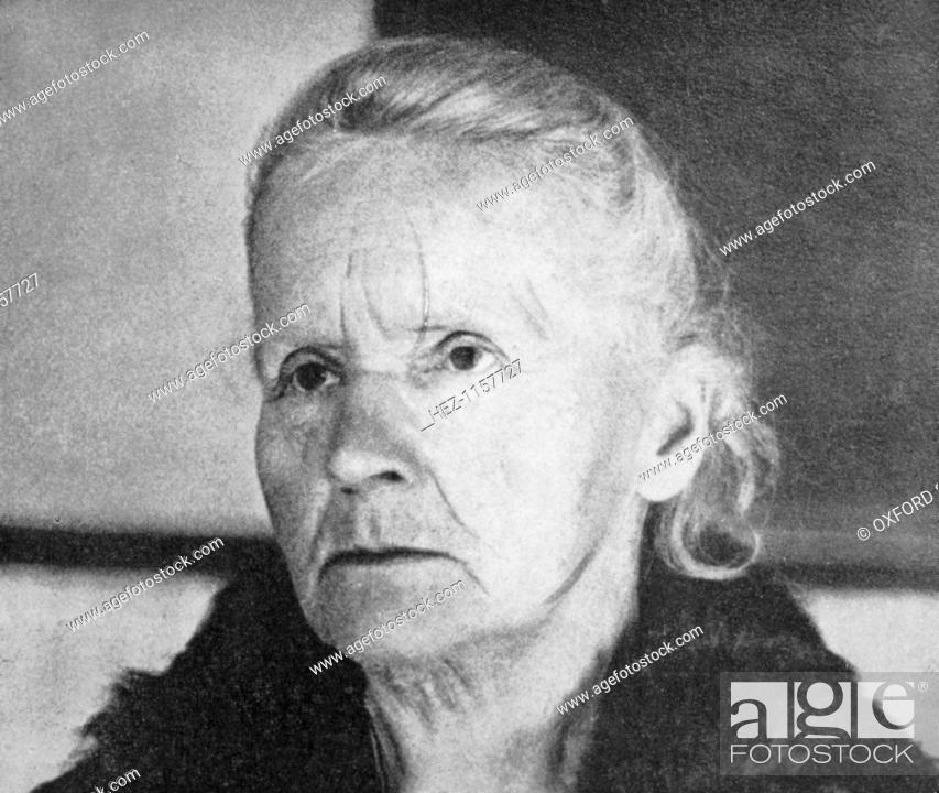 Madam curie biography