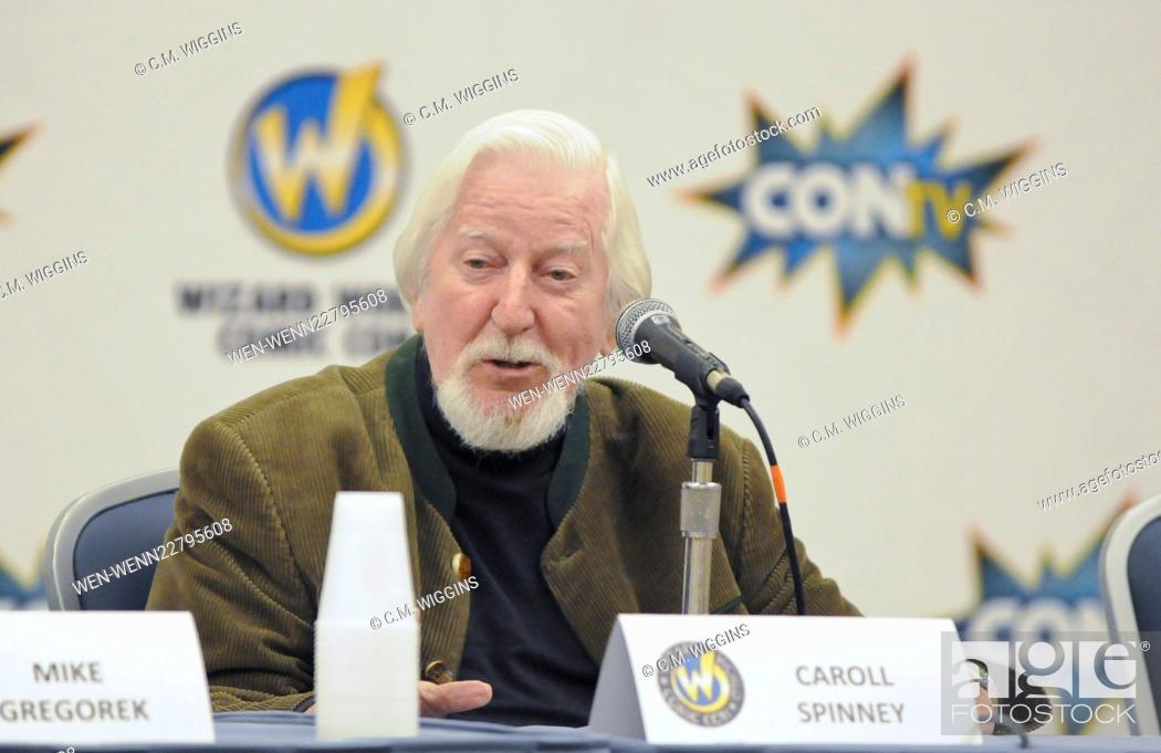 81cf8c54b Stock Photo - Wizard World Comic Con Chicago 2015 at the Donald E ... .  Stephens Convention Center in Rosemont - Day 2 - Inside Featuring: Caroll  Spinney ...