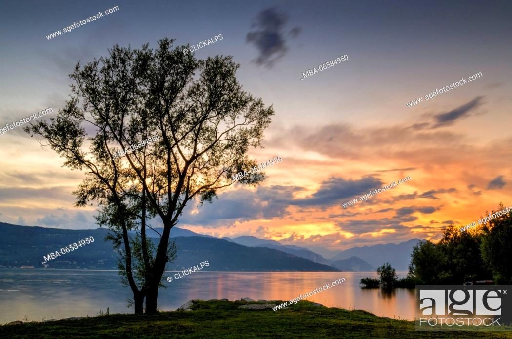 Stock Photo: Varese, Piedmont, lake Maggiore, Piedmont, Italy.