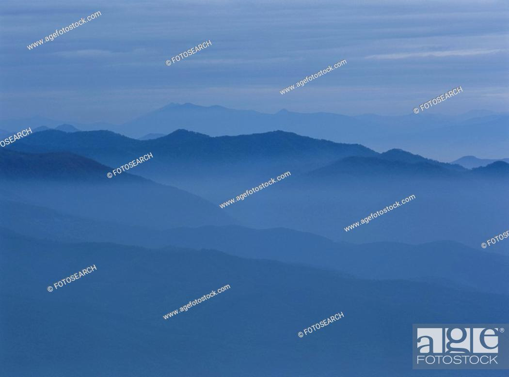 Stock Photo: Mountain Range.