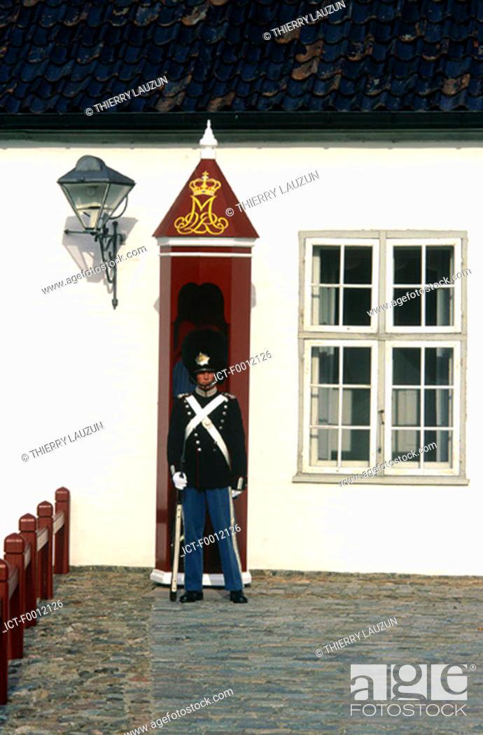 Stock Photo: Denmark, Fredensborg castle.