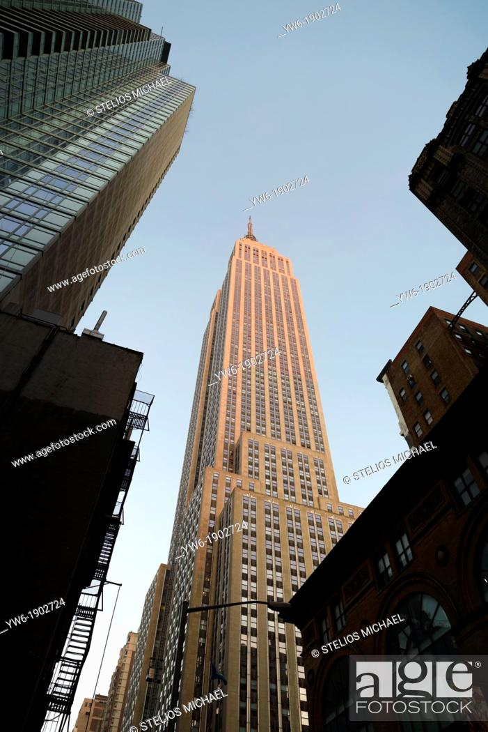 Stock Photo: Empire State Building, New York, USA.