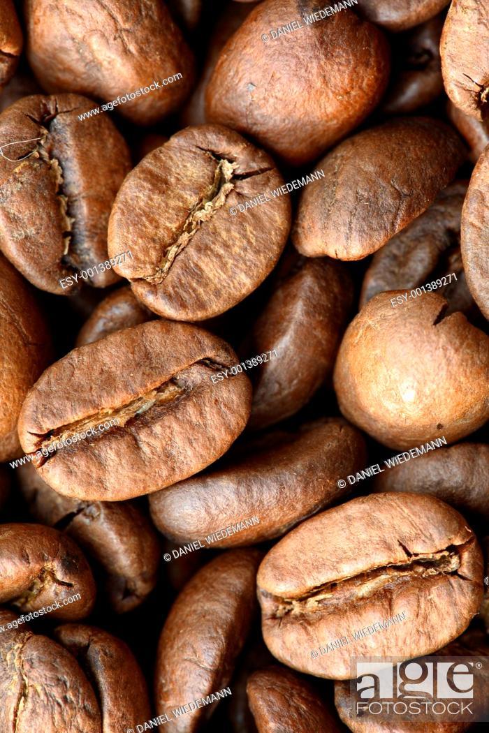 Stock Photo: Coffee Grains.