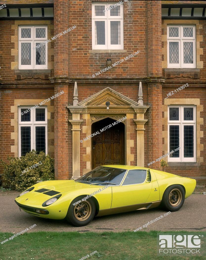 1968 Lamborghini Miura Sv After A Bad Experience Owning A Ferrari