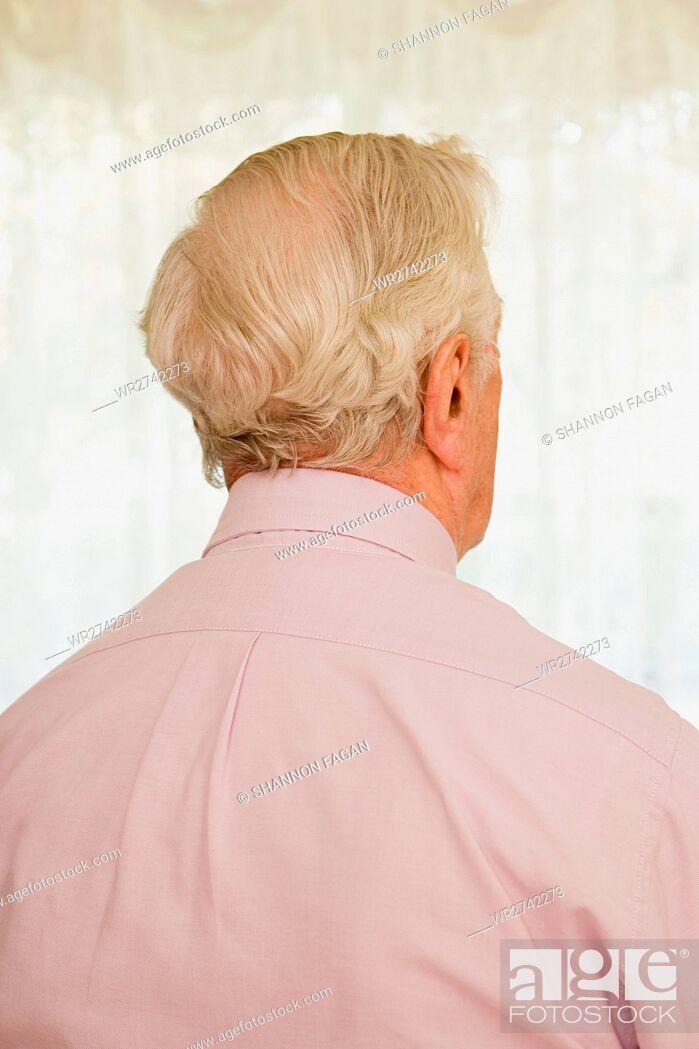 Stock Photo: Elderly man.