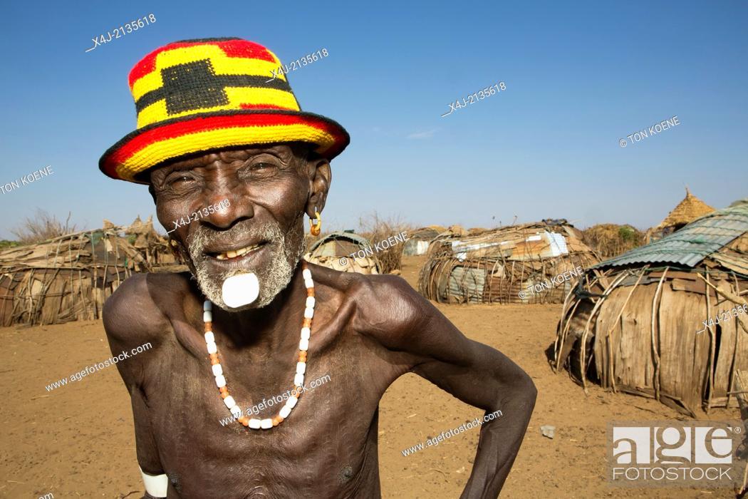 Stock Photo: Dasanesh tribe in Ethiopia.