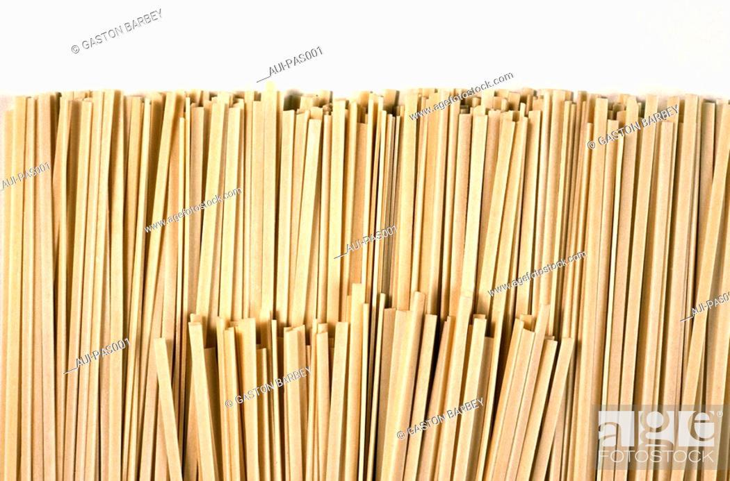 Stock Photo: Pasta - Asian Cream Noodle.