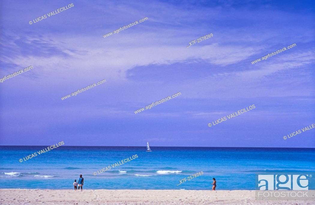 Imagen: Beach, Varadero, Cuba.