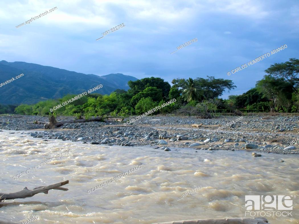 Imagen: Tonusco River, Santa Fe de Antioquia, Western Antioquia, Antioquia, Colombia.