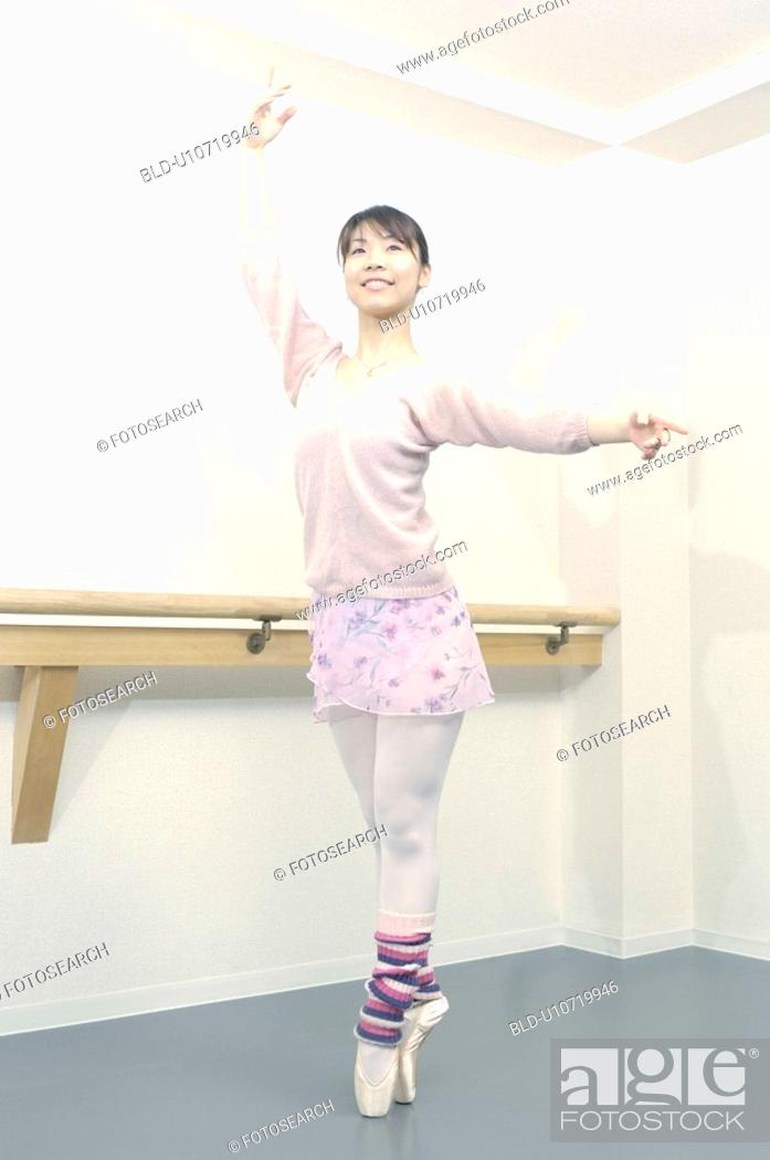 Stock Photo: Ballerina.