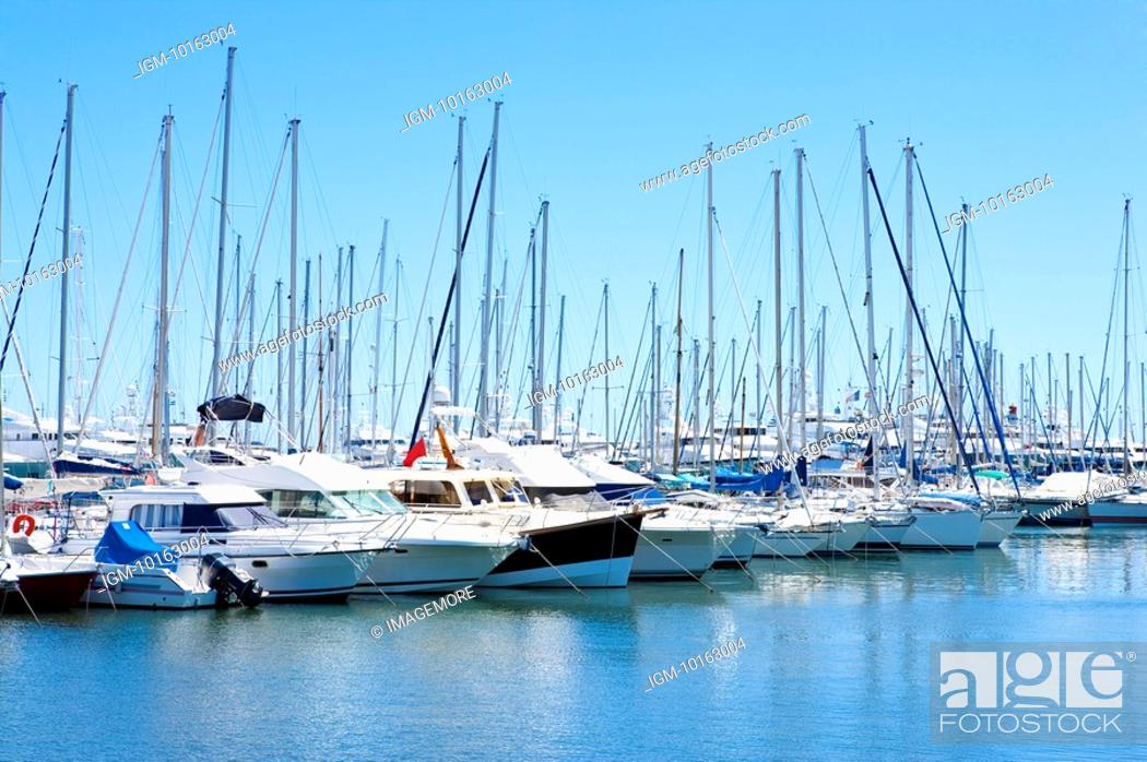 Stock Photo: Vieux Port, Cannes, Provence-Alpes-Cote d'Azur, France, Europe.