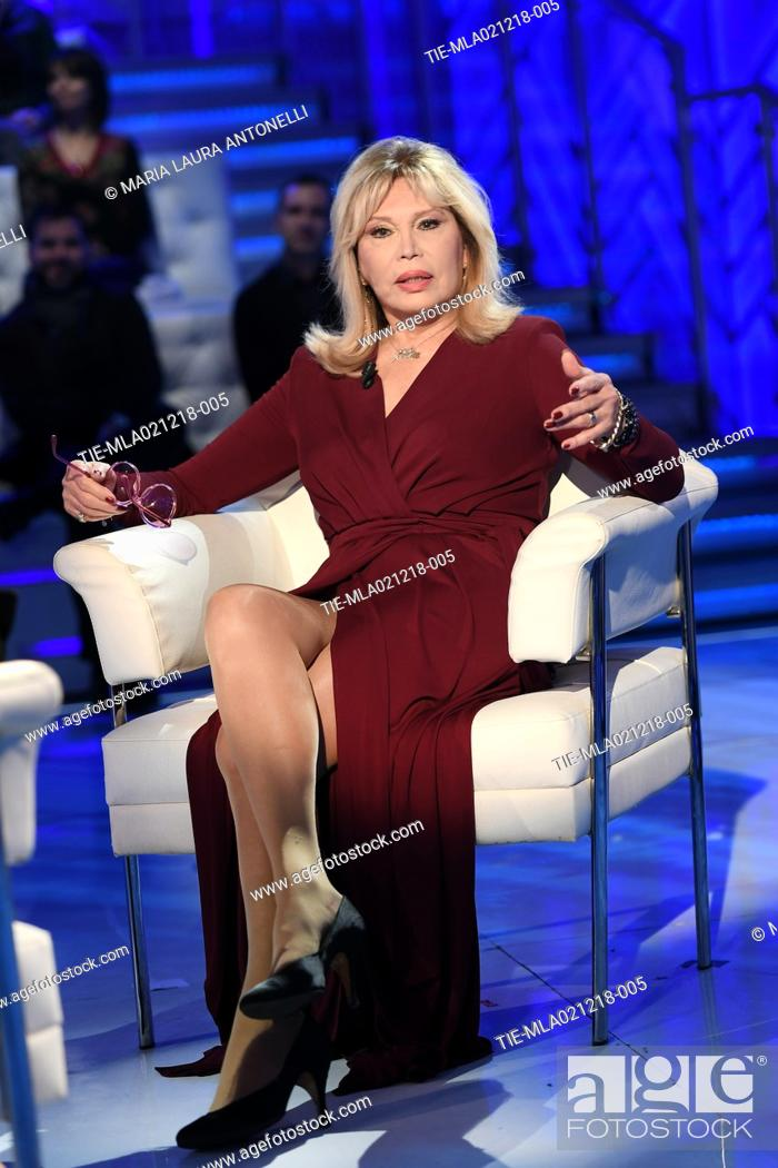Imagen: Amanda Lear during the tv show Domenica in, Rome, ITALY-02-12-2018.