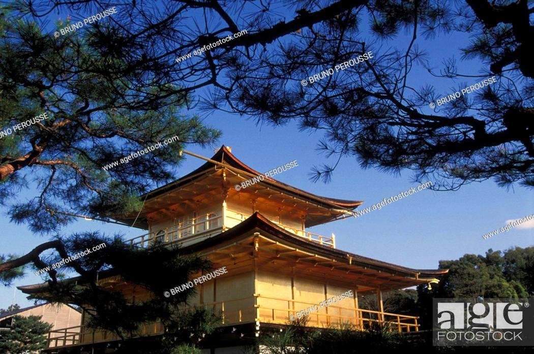 Stock Photo: Ginkaku-ji temple (Temple of the Silver Pavilion), Kyoto, Japan.