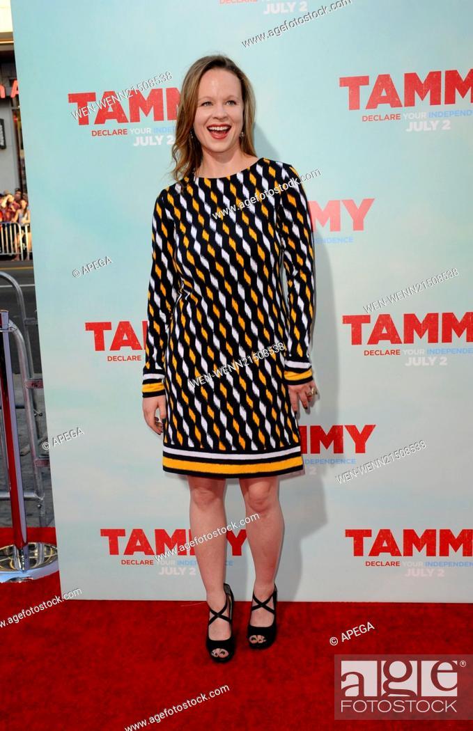 Film Premiere Of Tammy Featuring Thora Birch Where Los