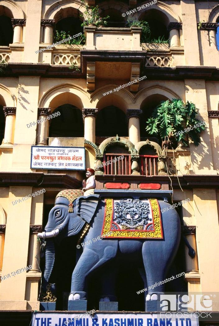 Stock Photo: Elephant building , Kalbadevi , Bombay Mumbai , Maharashtra , India.