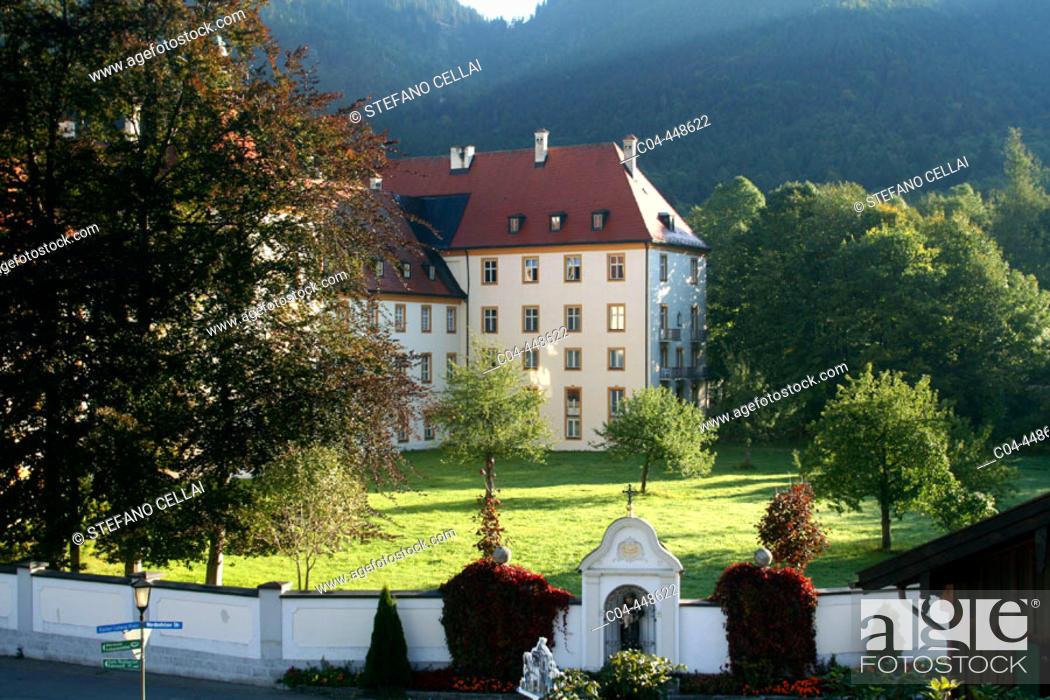 Stock Photo: Ettal monastery. Bavaria, Germany.