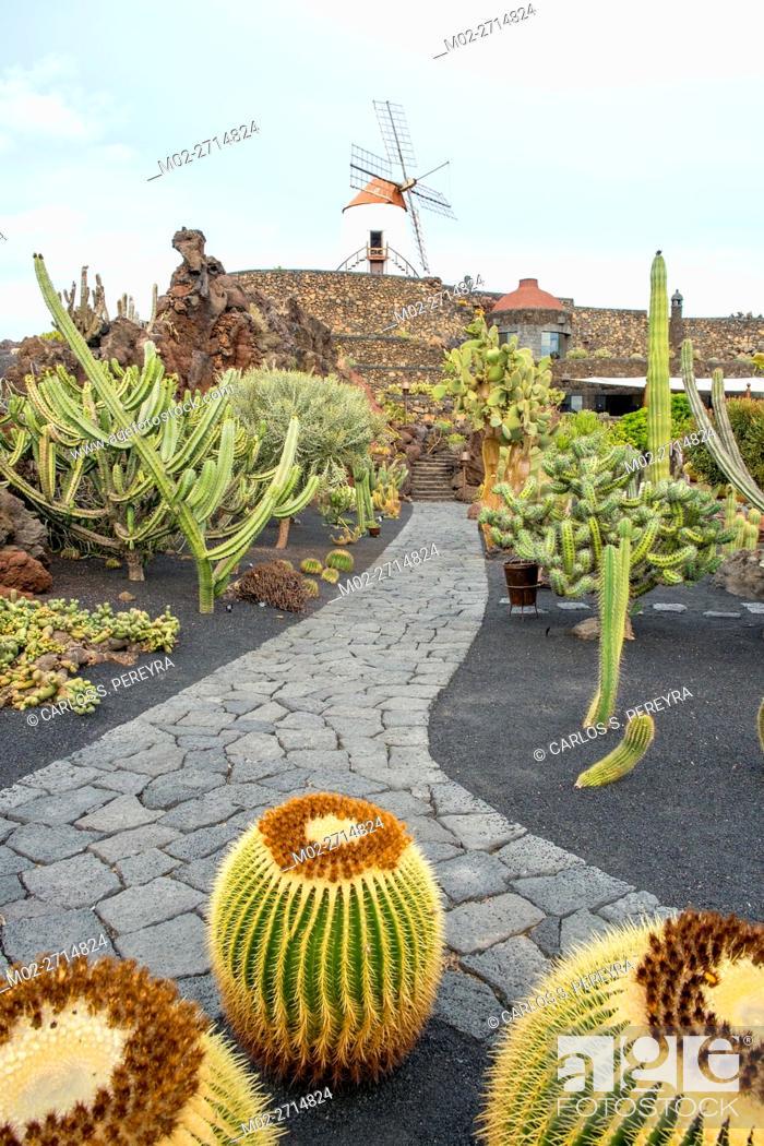 Cactus Garden Jardin De Cactus Designed By Cesar Manrique