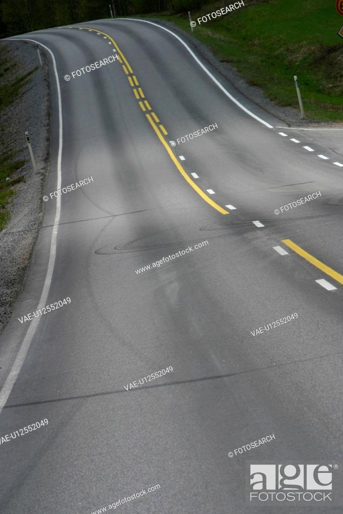 Stock Photo: outdoors, way, path, road, highway, freeway.