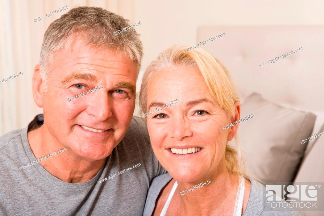 Stock Photo: Mature couple.