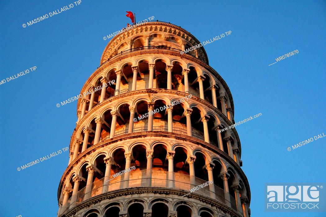 Imagen: Leaning Tower of Pisa, Campo dei Miracoli, Tuscany, Italy.