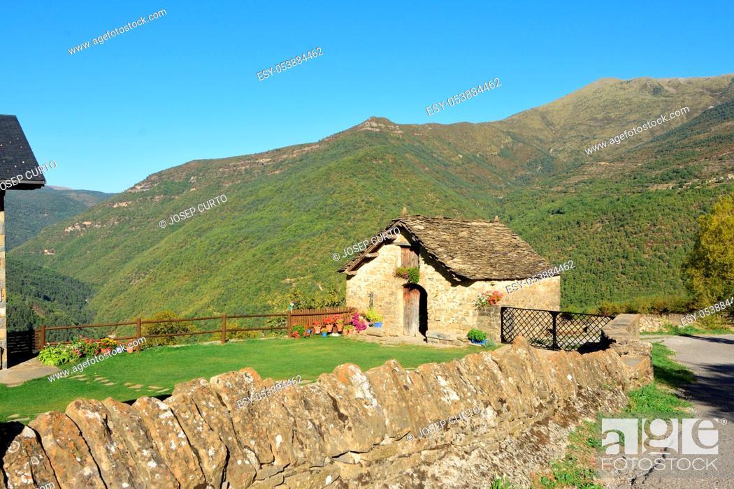 Imagen: landscape of Asin de Broto, Huesca province, Aragon, Spain.