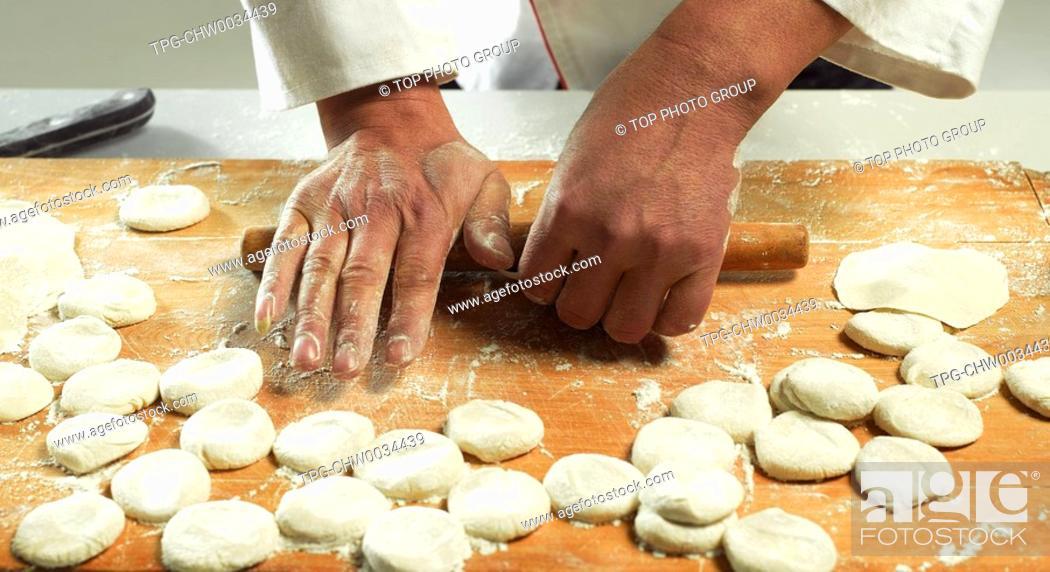 Stock Photo: Chinese Dumpling.