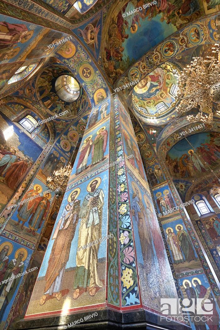 Imagen: St. Petersburg Russia. Church of the savior on the spilled blood.