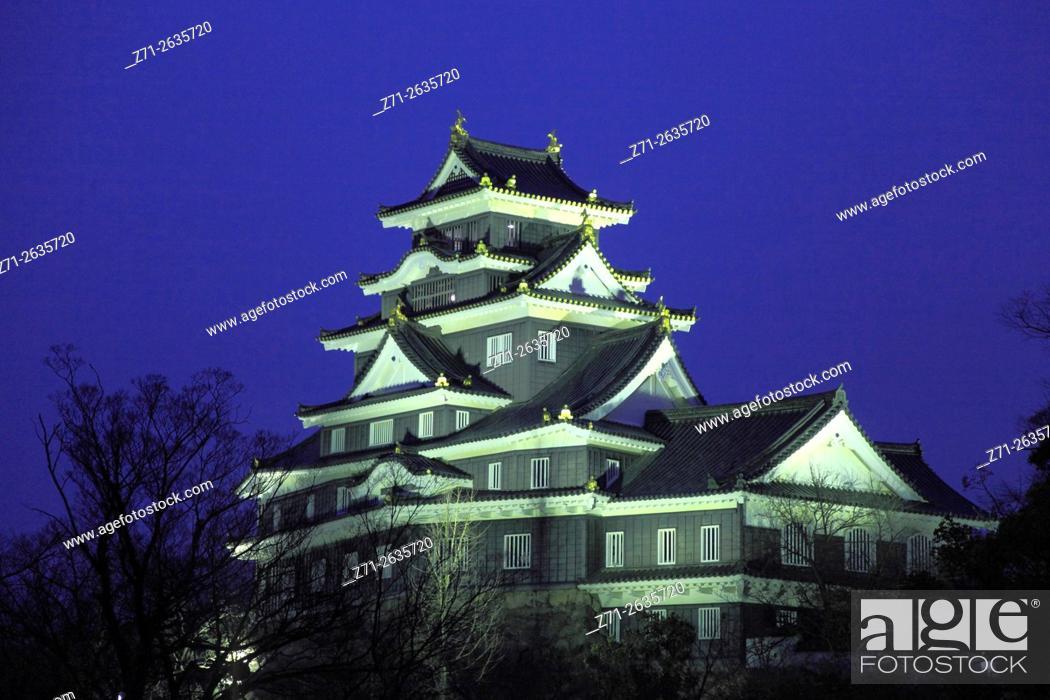 Imagen: Japan, Okayama, Okayama-jo, Castle, .
