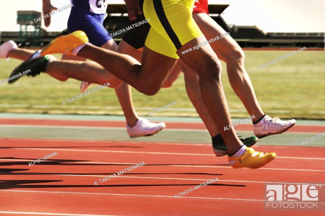 Stock Photo: Running Race.
