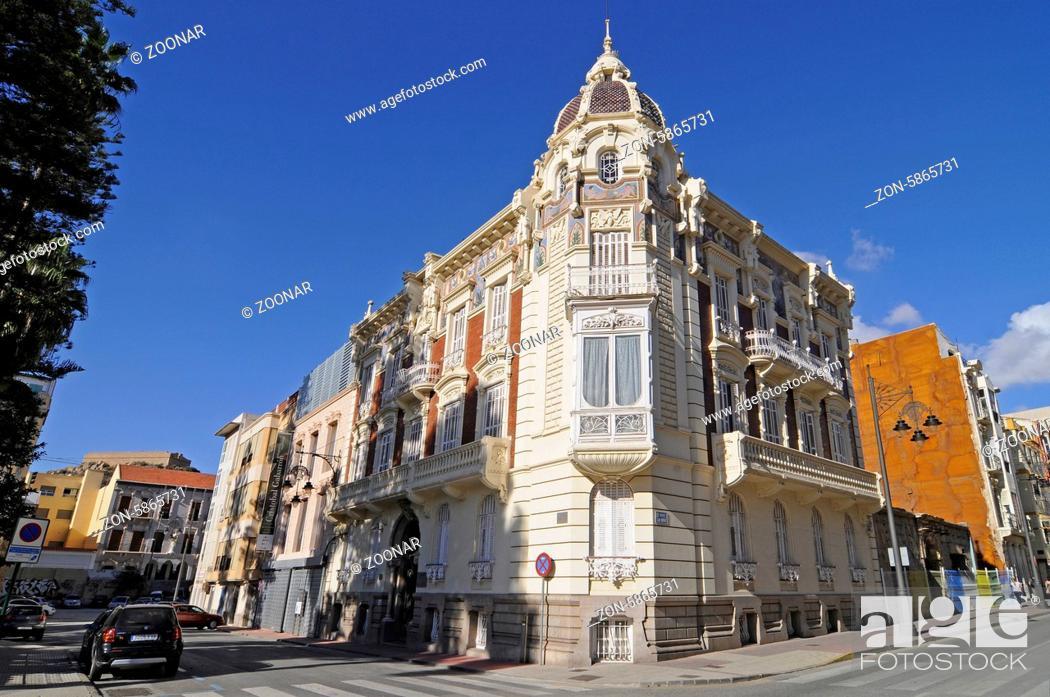 Stock Photo: Muram, modern art museum, Cartagena, Murcia Region, Spain, Europe, Muram, moderne Kunst, Museum, Cartagena, Region Murcia, Spanien, Europa.