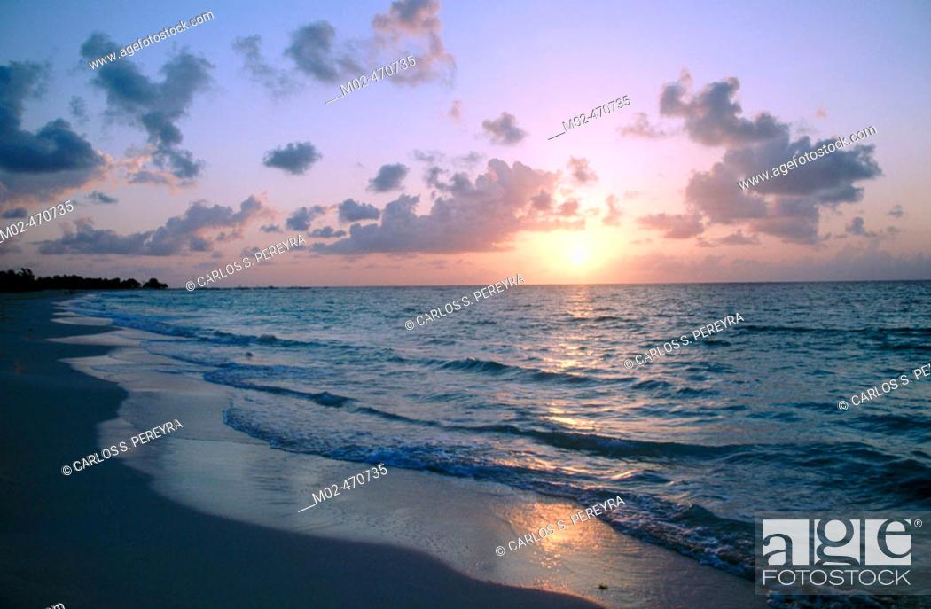 Stock Photo: Playa del Carmen, Caribbean. Quintana Roo, Mexico.