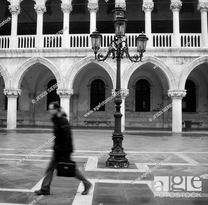 Stock Photo: Doge's Palace, Venice, Italy.