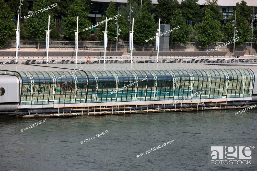 France Ile De France Paris 13e Arrondissement Seine Quai