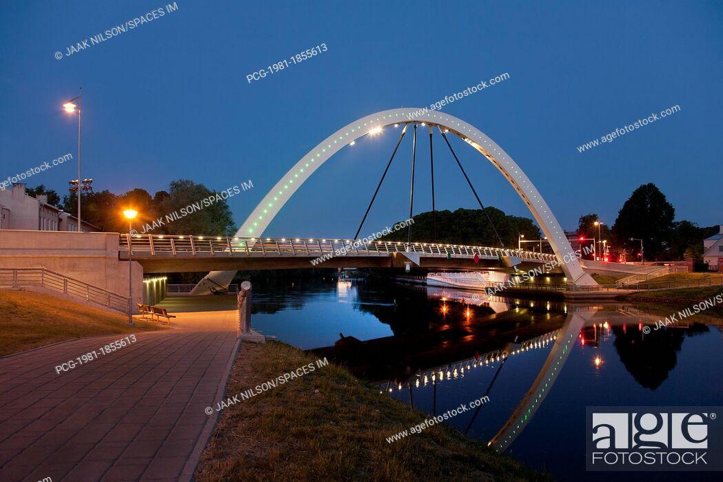 Stock Photo: Estonian Bridge and Archway.