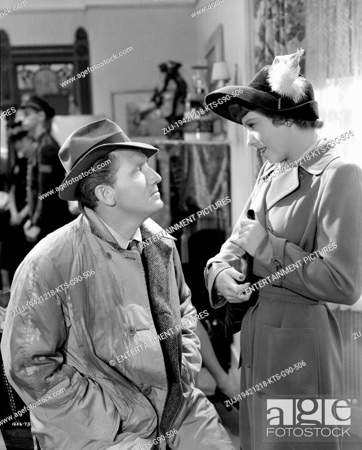 Stock Photo: RELEASED: Dec 18, 1942 - Original Film Title: Keeper of the Flame. PICTURED: SPENCER TRACY. (Credit Image: © Entertainment Pictures/Entertainment.