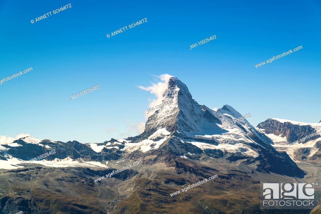 Stock Photo: Matterhorn, Zermatt, Switzerland.