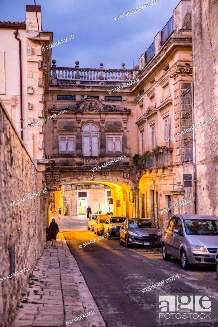Imagen: Palazzo Arezzi, Ragusa Ibla, Ragusa, Sicily, Italy.