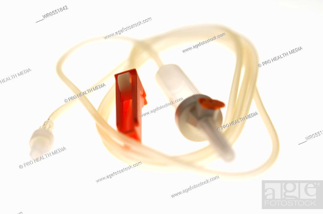 Imagen: catheter on white.